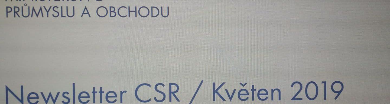 MPO vydalo nové číslo Newsletteru CSR