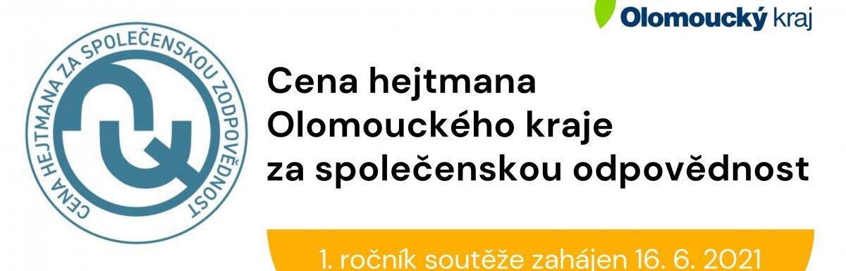 Olomoucký kraj letos vůbec poprvé vyhlásí cenu hejtmana za společenskou odpovědnost