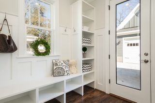 Distribution of the interior of a tiny house