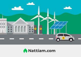 Efficient energy city image