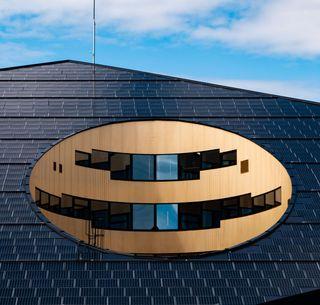 Solar panel tile