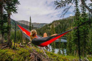 Sustainable lifestyle mountain