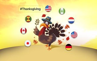 8 countries thanksgiving day