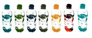 Soda bottles from plants
