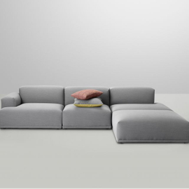Oversize sofa + puff