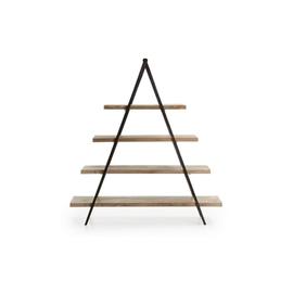Pyramidal aluminum shelving