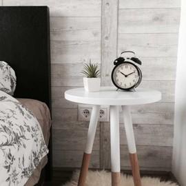 Wooden bedroom table