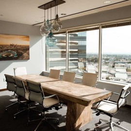Wooden office table small