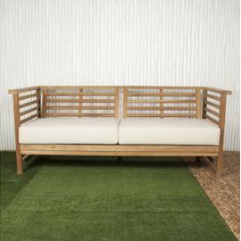 Bamboo  and organic cotton sofa