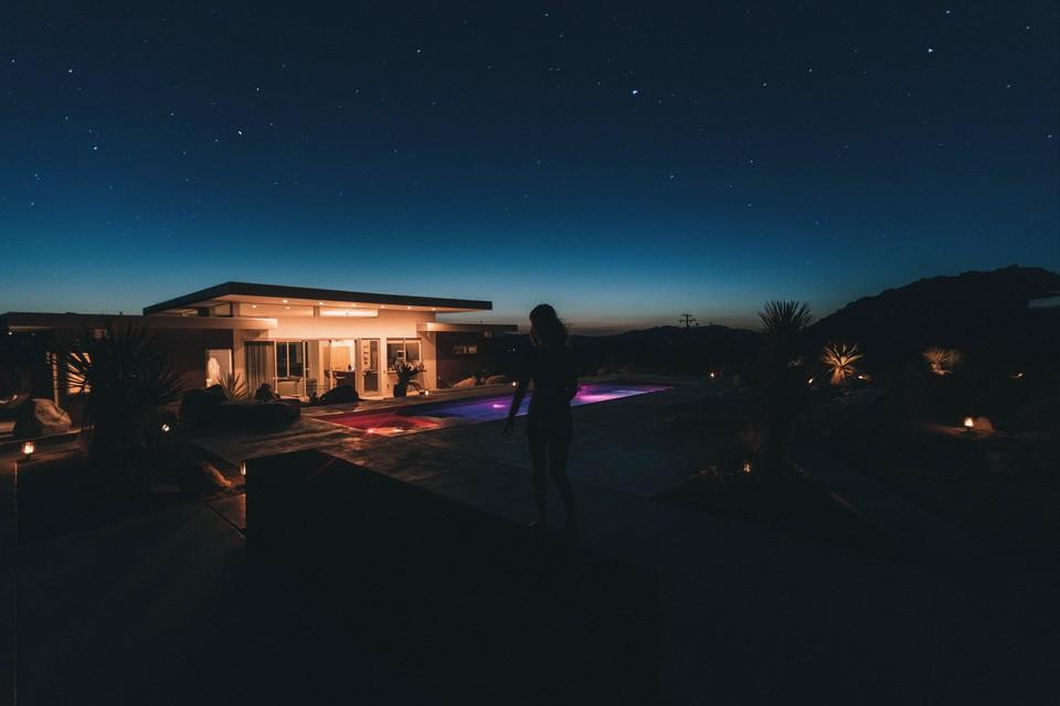 Lighting of landscapes image