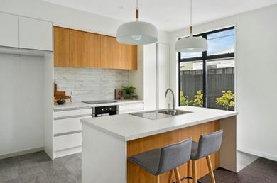 Wonderful bright kitchen