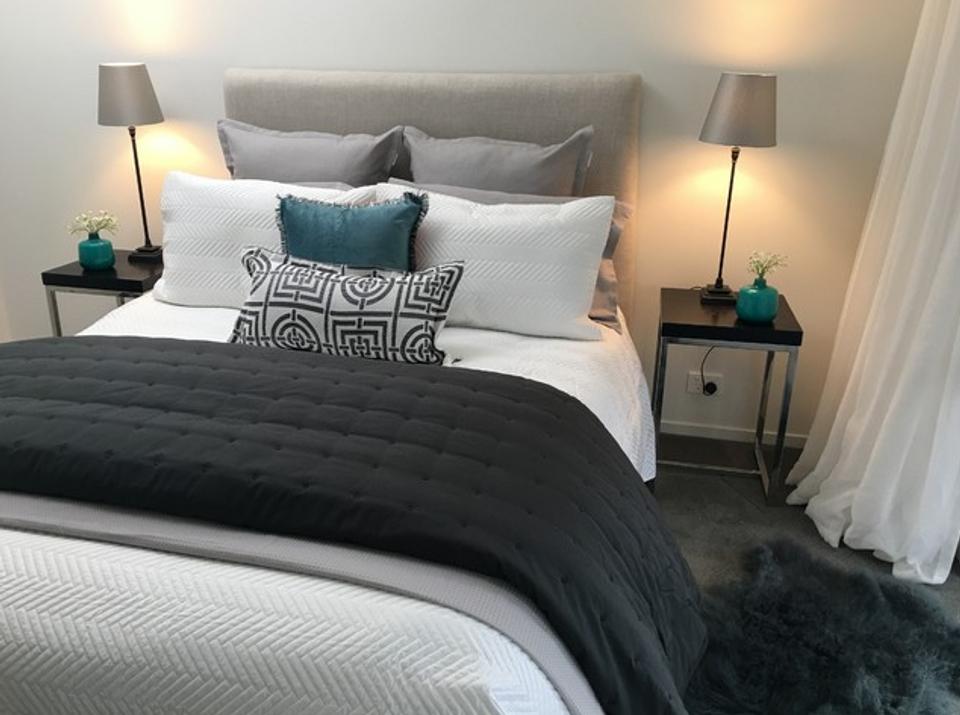 Blue Bedroom image
