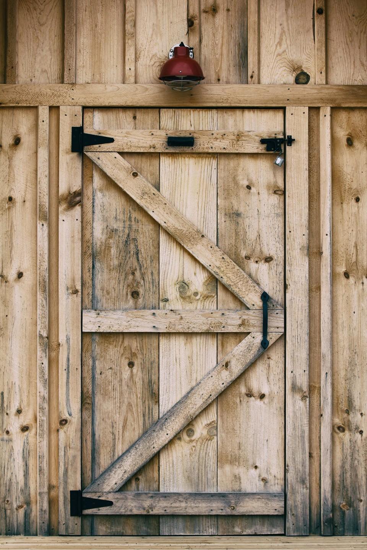 Barn style doors image