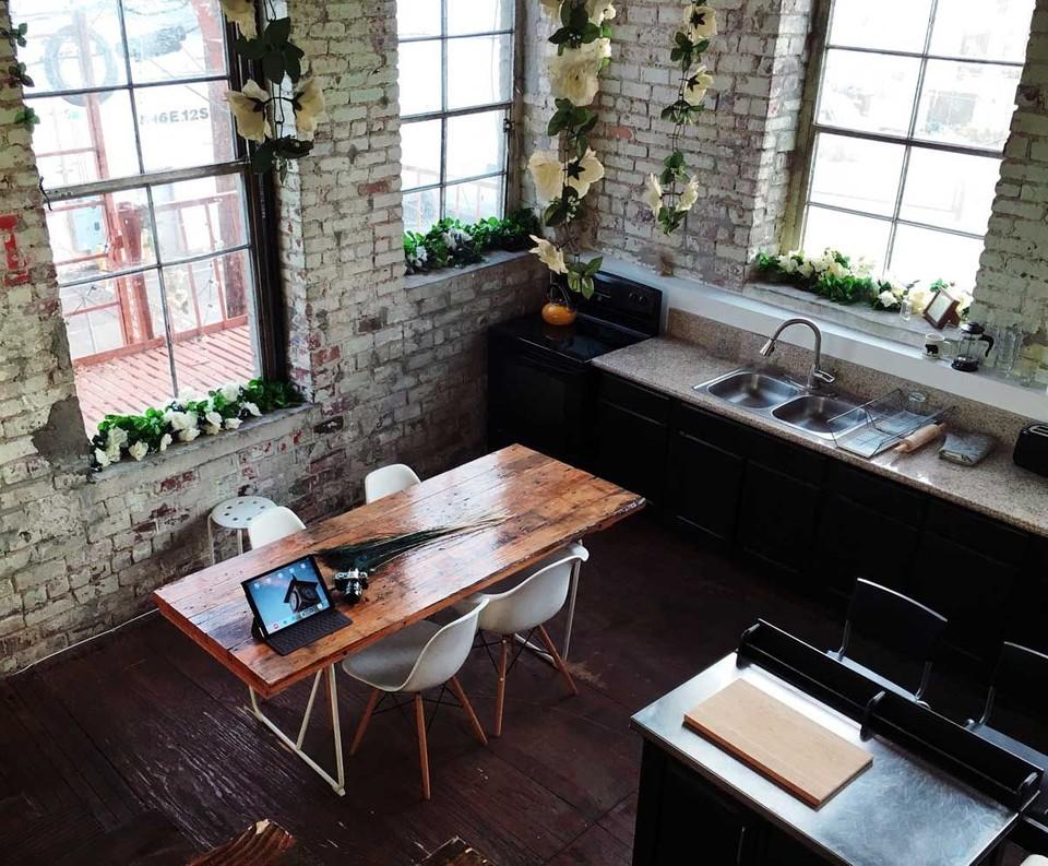 Design of industrial kitchen