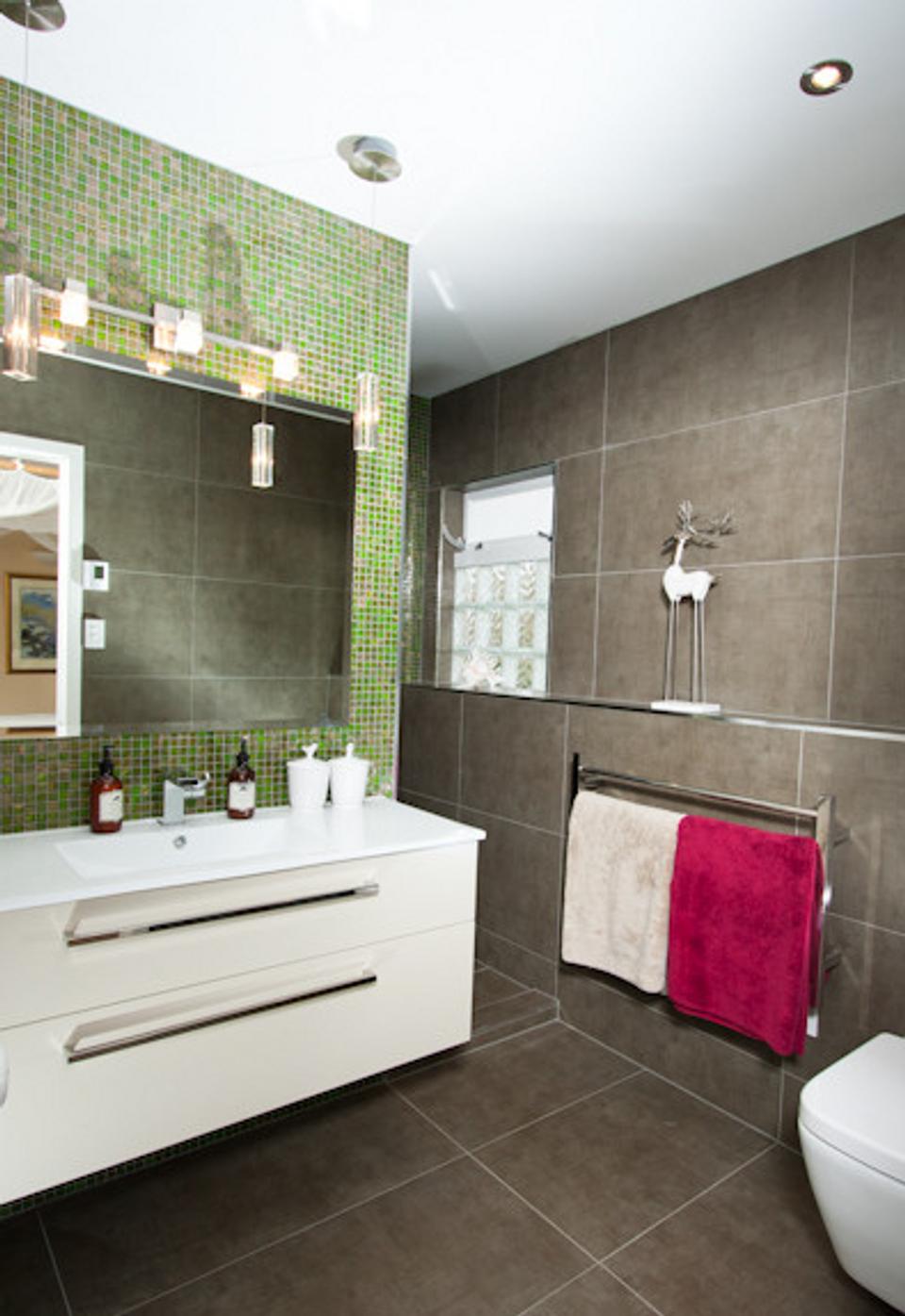 Modern bathroom renovation image