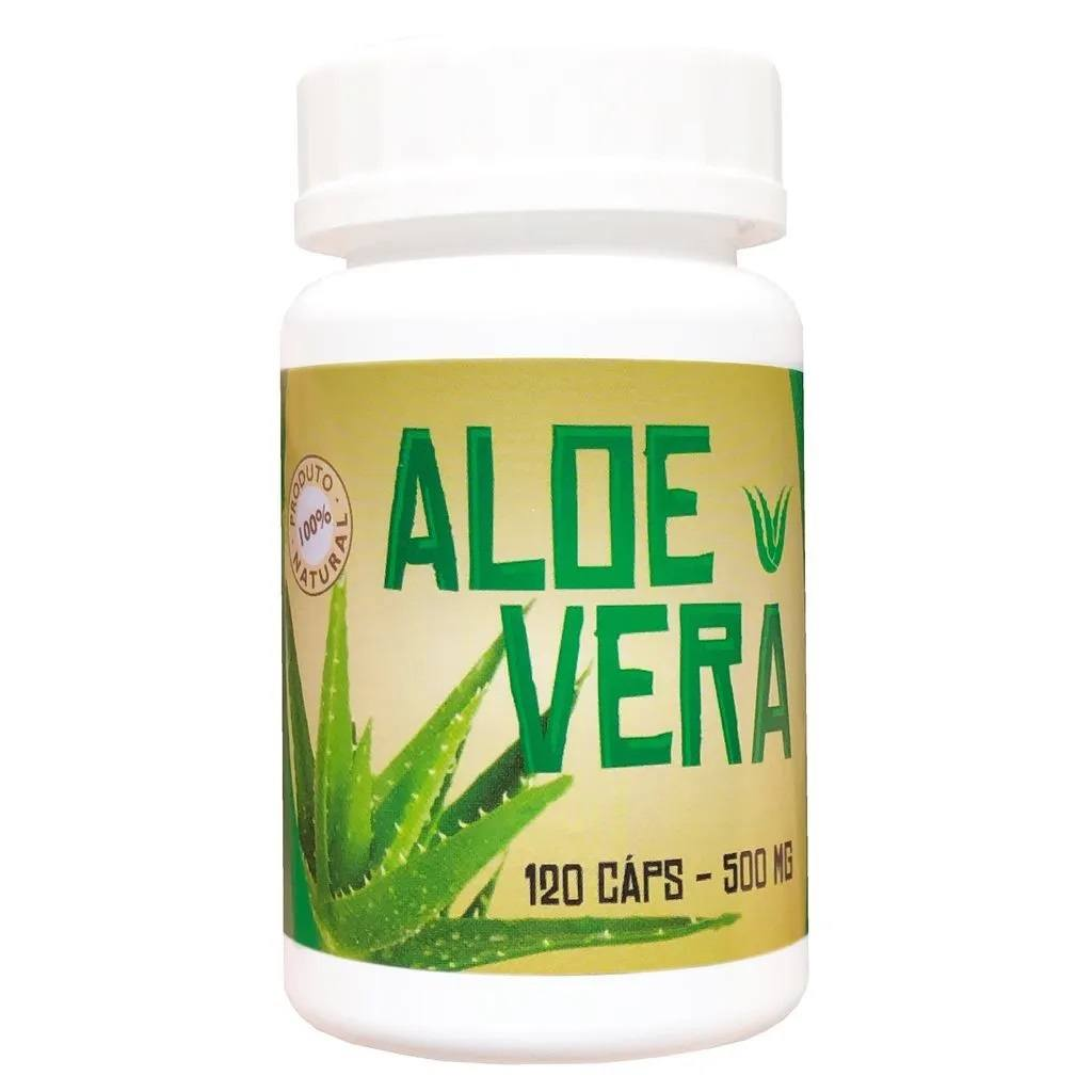 Aloe Vera 120 Cápsulas 500mg - Ninho Verde