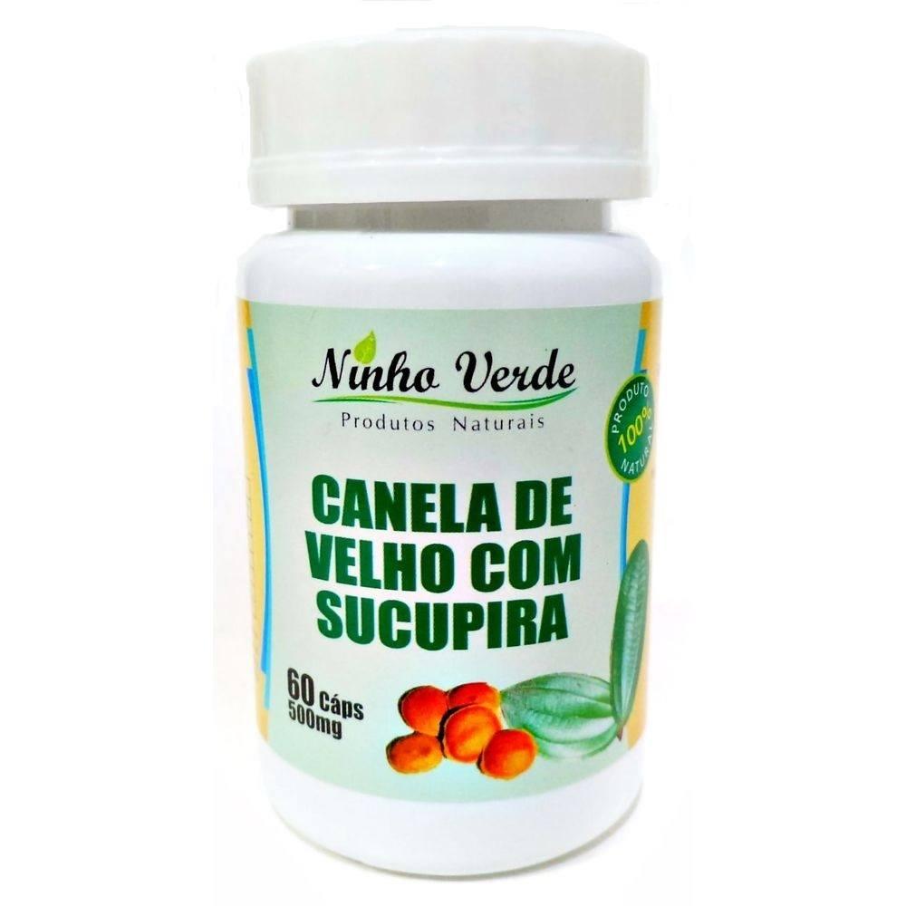 Canela de Velho com Sucupira 60 cáps. 500 mg