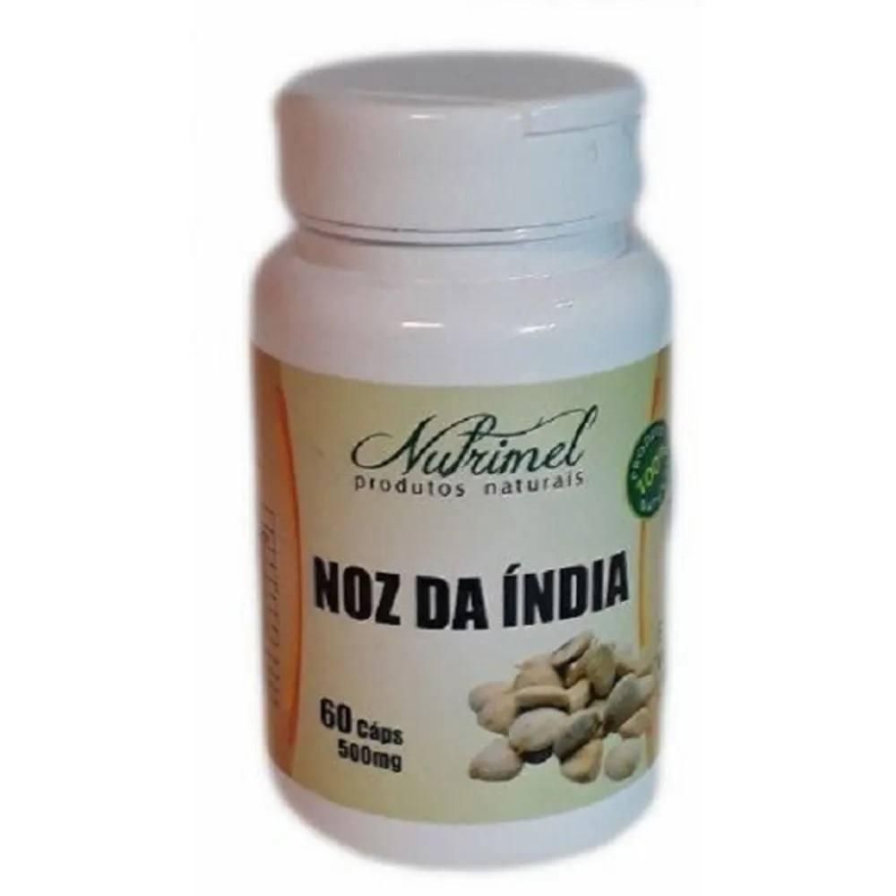 Noz da índia 60 cápsulas 500 mg Nutrimel