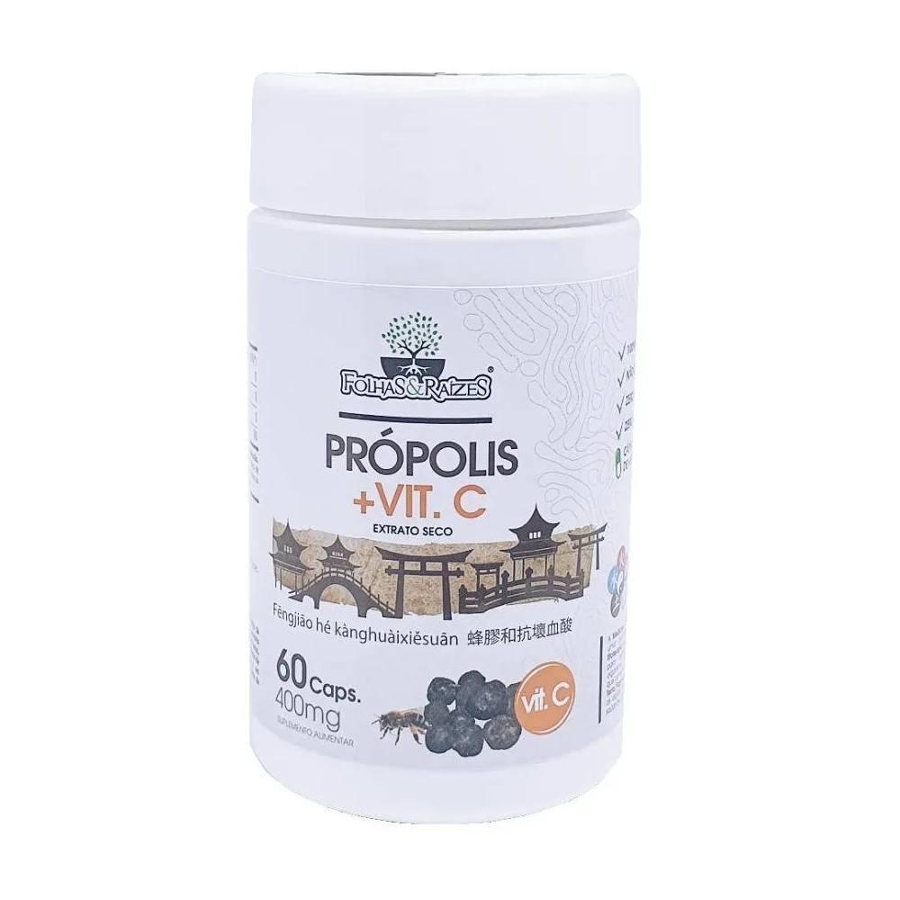 Própolis + Vitamina C 60 cápsulas 400 mg