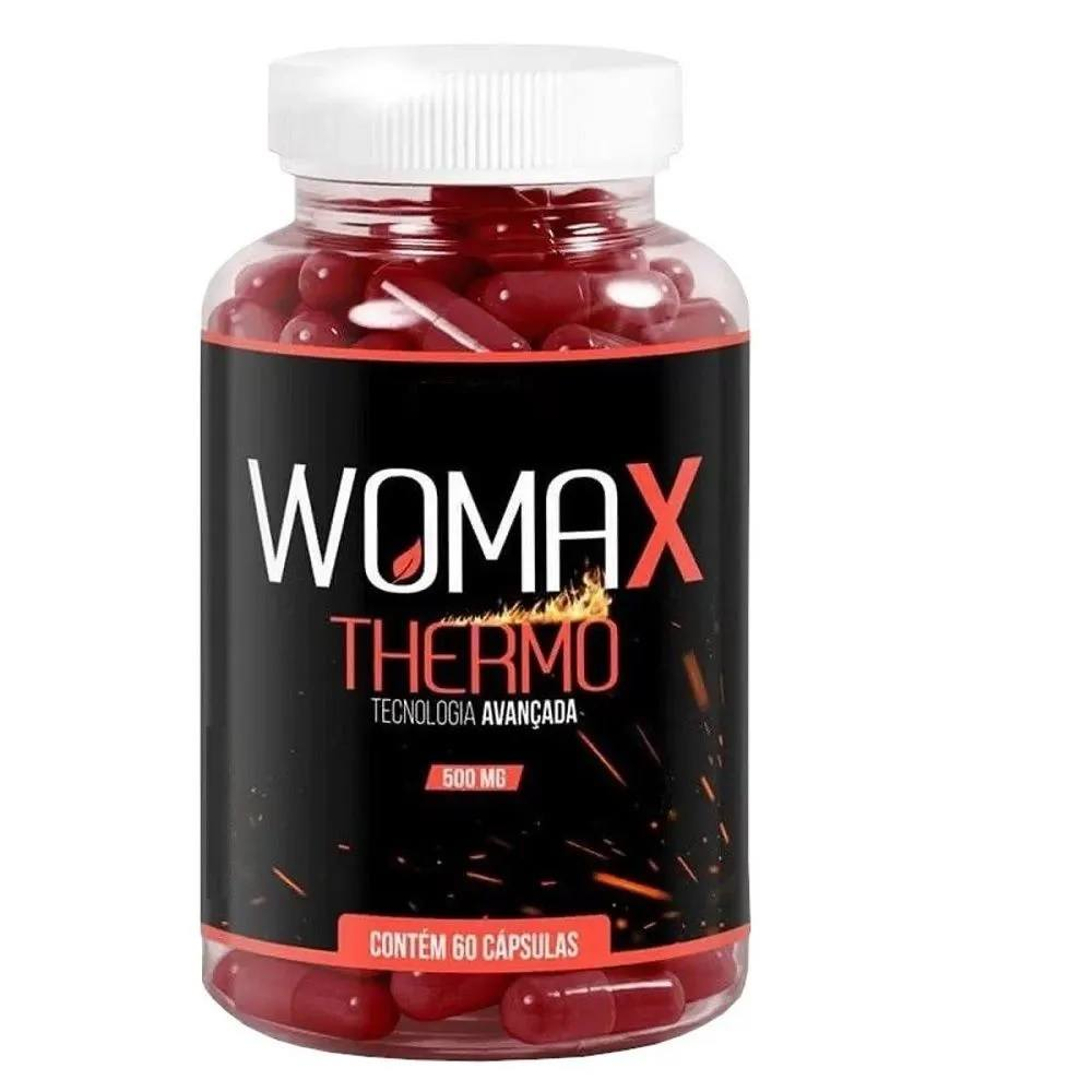 WOMAX THERMO 60 CÁPS. 500 mg Vida Natural