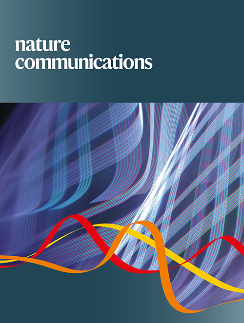 Nature Communicationsの表紙