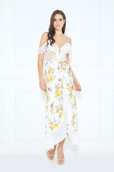 Calista Long Dress