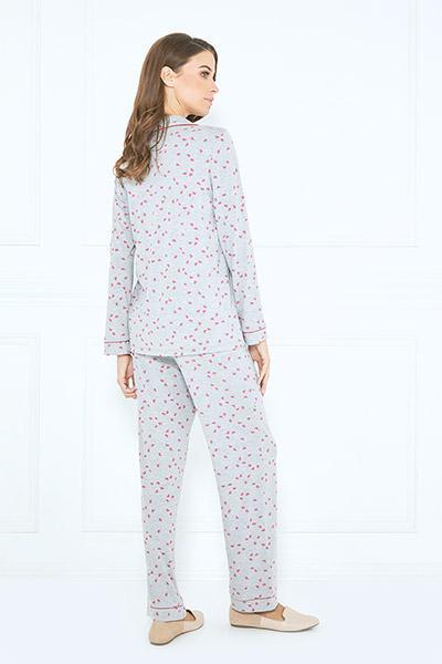 231929081ae5 Buy Grey Pajama Set Online at Nayomi