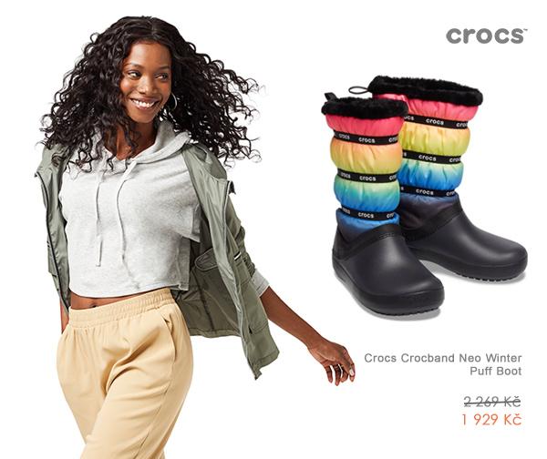Crocs Crocband Neo Winter Puff Boot