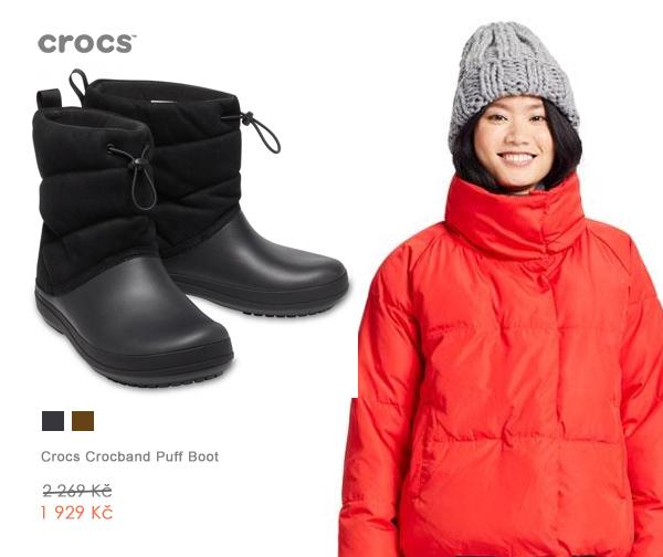 Crocs Crocband Puff Boot