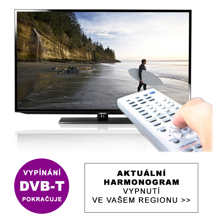 Přechod na DVB-T2 se opět rozjíždí