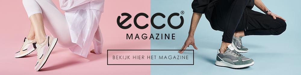 Ecco Irving Lage sneakers voor heren Zwart Nelson.nl