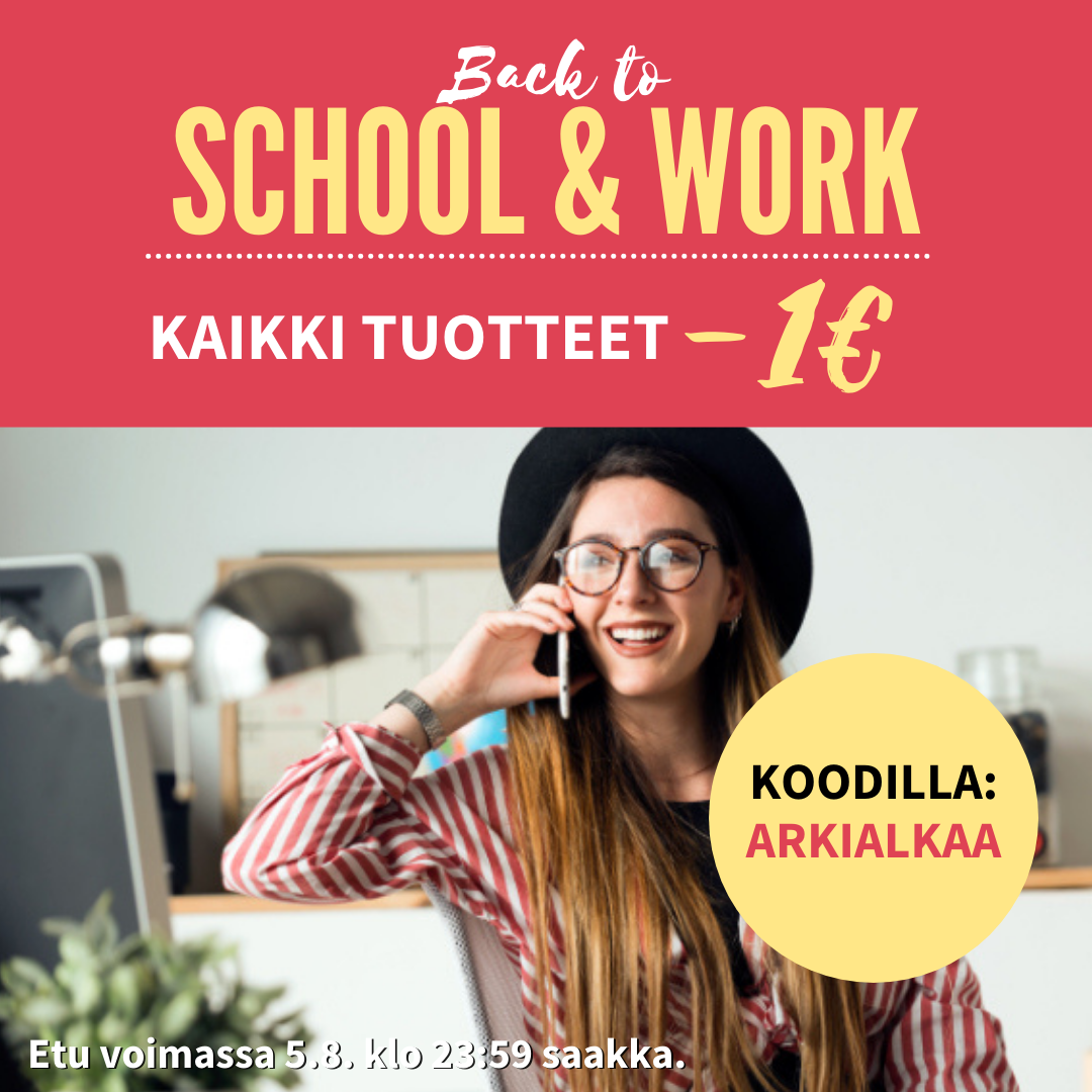 Back to School & Work