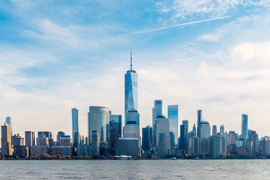 New York City skyline in daytime