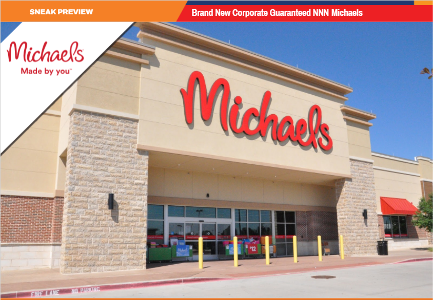 Michaels NNN for Sale