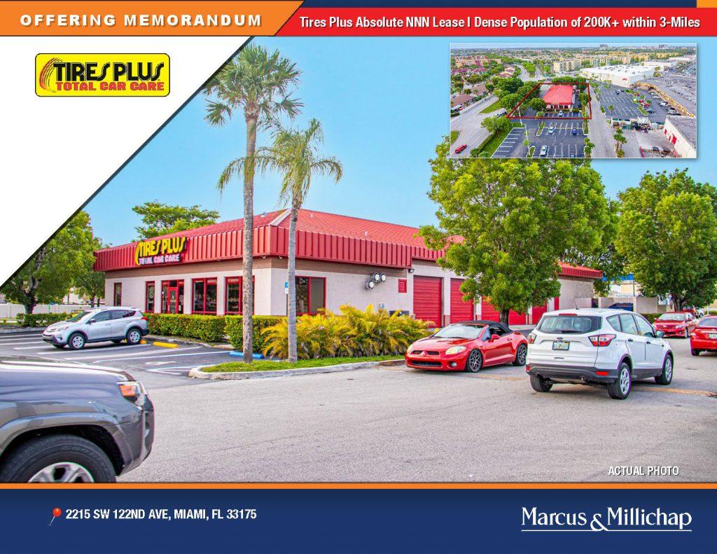 Tires Plus Miami FL NNN for Sale for sale