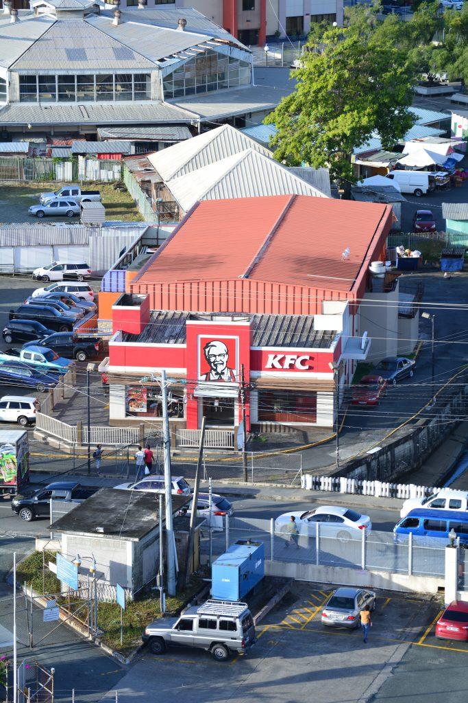 KFC single tenant net lease traffic