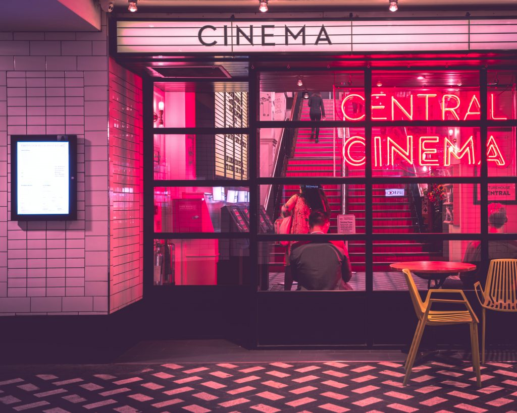 net lease movie theather