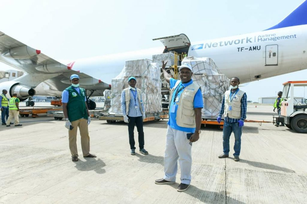 Network Aviation Group and Partners Provide Vital Supplies for Nigeria's COVID-19 Response Efforts
