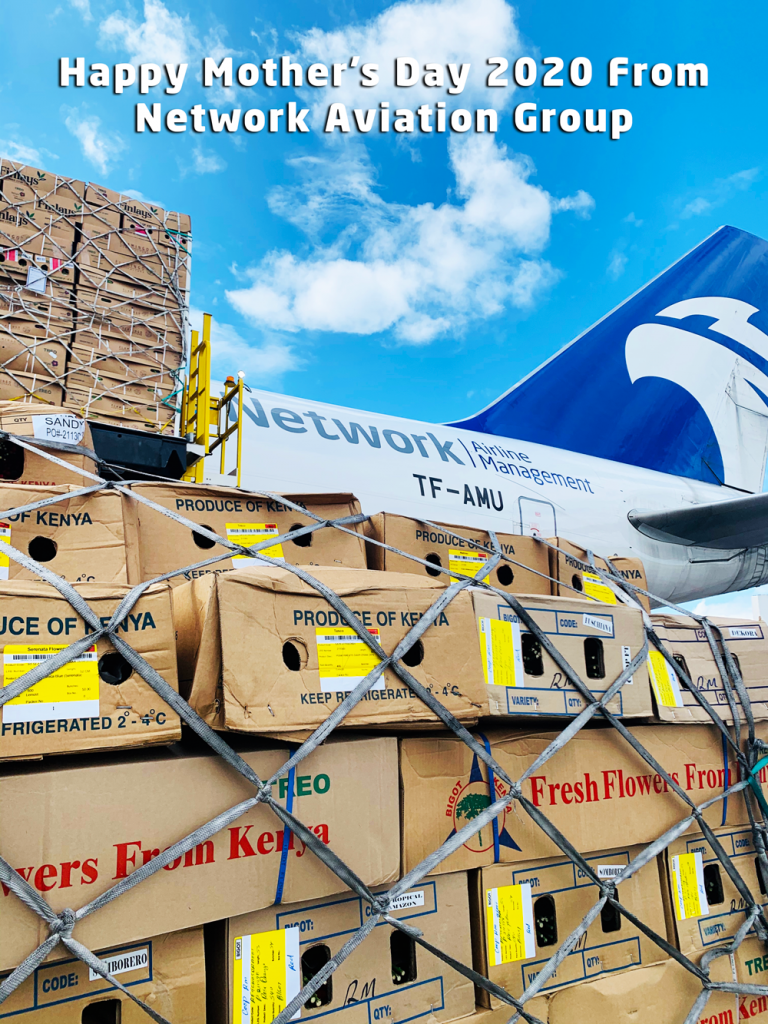 Network Aviation Group Import Tonnes of Flower's to Help Celebrate Mother's Day 2020