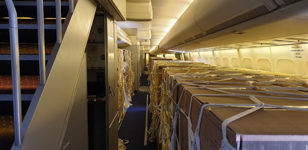 Cargo in Converted PAX B747 Aircraft - Network Aviation Group