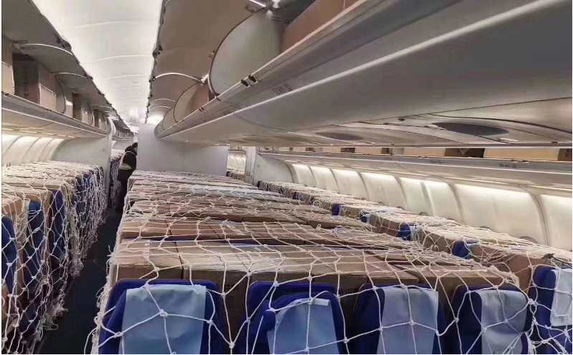 Cargo Secured in the Passenger Aircraft Cabin - Network Aviation Group
