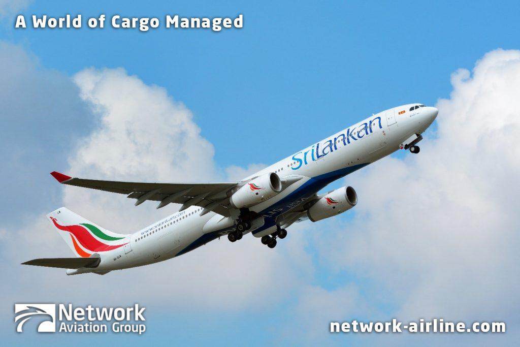 Network Airline Services and Sri Lankan Airlines Transport Fish Maws to HKG