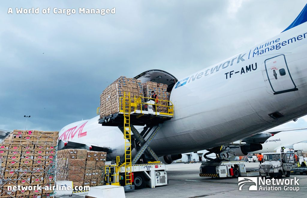 Network Airline Management Transports Tons of Flowers to Help Celebrate International Mother's Day 2021 - Network Aviation Group