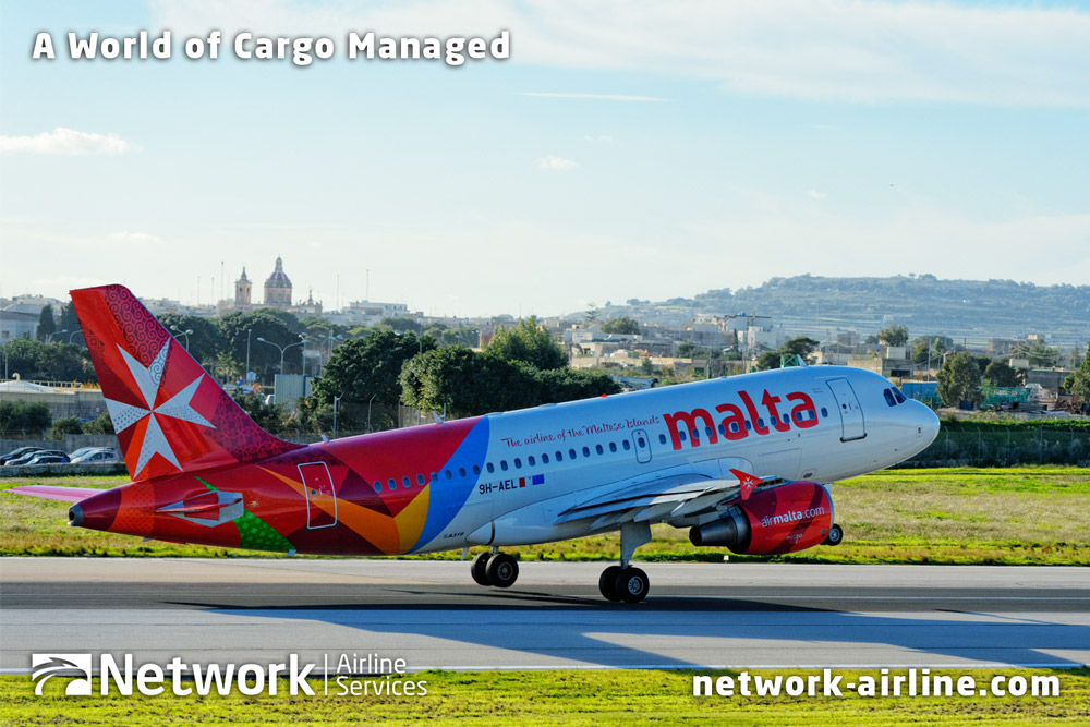 Air Malta and Network Airline Services Extend Total Cargo Management Agreement - Network Aviation Group