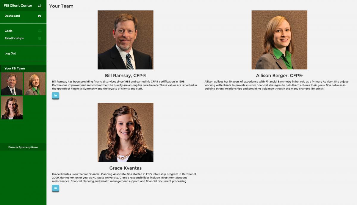 2015-10-14-FSI Client Center-Your FSI Team