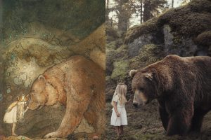 <b>Prinsessan och björnen - min tolkning av John Bauer</b>