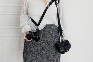 <b>Kamerarem för två kameror</b>