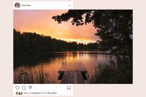 <b>Hur du skapar ett liggande foto med cool swipe-effekt på Instagram</b>