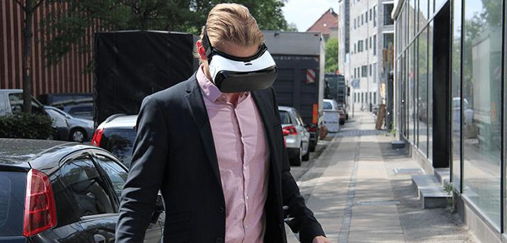 Virtuaalitodellisuus toimistoesittely