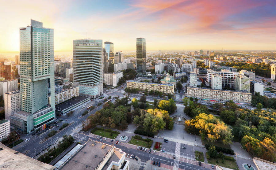 Warsaw office article